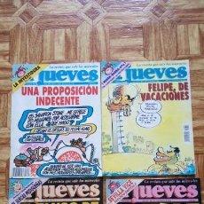 Coleccionismo de Revista El Jueves: LOTE 4 REVISTAS EL JUEVES AÑOS 90. Lote 135502206