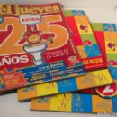 Coleccionismo de Revista El Jueves: LOTE REVISTAS EL JUEVES 25 AÑOS. EXTRA Nº1305 + LO MAS MEJOR 1 Y 2 ESPECIAL COLECCIONISTAS.. Lote 135718071