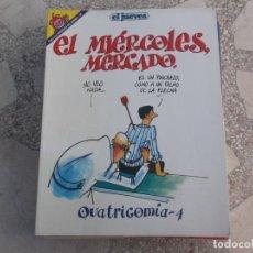 Coleccionismo de Revista El Jueves: PENDONES DEL HUMOR Nº 30, EL JUEVES,QUATRICOMIA -4,EL MIERCILES MERCADO. Lote 136017414