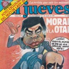 Coleccionismo de Revista El Jueves: EL JUEVES - Nº 383 / SEPTIEMBRE 1984 - CON POSTER CENTRAL. Lote 136050922