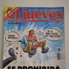Coleccionismo de Revista El Jueves: REVISTA EL JUEVES N° 1324. Lote 138813046