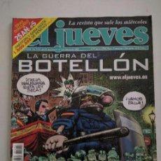Coleccionismo de Revista El Jueves: REVISTA EL JUEVES N° 1292. Lote 138816514