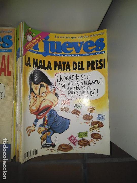 LOTE DE 72 REVISTAS EL JUEVES (Coleccionismo - Revistas y Periódicos Modernos (a partir de 1.940) - Revista El Jueves)