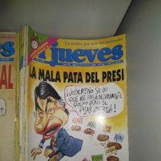Coleccionismo de Revista El Jueves: LOTE DE 72 REVISTAS EL JUEVES. Lote 139669186