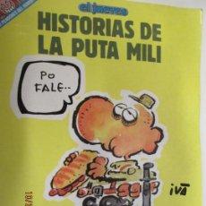 Coleccionismo de Revista El Jueves: PENDONES DEL HUMOR Nº 69 (EL JUEVES) HISTORIAS DE LA PUTA MILI. Lote 139670934