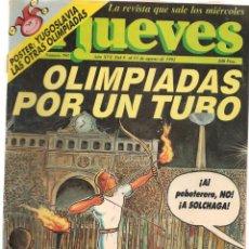 Coleccionismo de Revista El Jueves: EL JUEVES. Nº 793. OLIMPIADAS POR UN TUBO. 11 AGOSTO 1992. (ST/). Lote 140134490