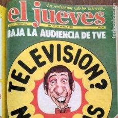 Coleccionismo de Revista El Jueves: TOMO CON 26 EJEMPLARES DE LA REVISTA EL JUEVES 1978 1979. Lote 140603418
