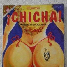 Coleccionismo de Revista El Jueves: CHICHA. OTRO LIBRO DEL PROFESOR COJONCIANO. POR OSCAR. EL JUEVES. COLECCION PENDONES DEL HUMOR Nº 10. Lote 140834358