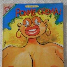 Coleccionismo de Revista El Jueves: PONME CREMA. OTRO LIBRO DEL PROFESOR COJONCIANO. POR OSCAR. EL JUEVES. COLECCION PENDONES DEL HUMOR . Lote 140837350