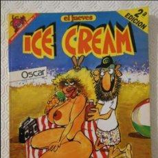Coleccionismo de Revista El Jueves: ICE CREAM. EL PROFESOR COJONCIANO. POR OSCAR. EL JUEVES. COLECCION PENDONES DEL HUMOR Nº 17. 180 GRA. Lote 140837498