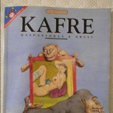 Coleccionismo de Revista El Jueves: KAFRE. POR DASPASTORAS & ABULI. EL JUEVES. COLECCION PENDONES DEL HUMOR Nº 122. 180 GRAMOS.. Lote 140839594