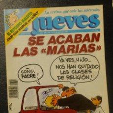 Coleccionismo de Revista El Jueves: REVISTA DE HUMOR - EL JUEVES Nº 723 AÑO XV DEL 3 AL 9 DE ABRIL DE 1991, SE ACABAN LAS MARIAS. Lote 143231662