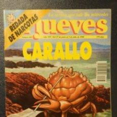 Coleccionismo de Revista El Jueves: REVISTA DE HUMOR - EL JUEVES. Nº 683. CARALLO CONNECTION. 3 JULIO 1990. Lote 143231738