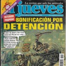 Coleccionismo de Revista El Jueves: == CN55 - REVISTA - EL JUEVES - BONIFICACIÓN POR DETENCIÓN - ENERO 1999. Lote 143243354