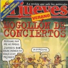 Coleccionismo de Revista El Jueves: == CN57 - REVISTA - EL JUEVES - MOGOLLÓN DE CONCIERTOS - JULIO 1998. Lote 143244242
