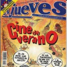 Coleccionismo de Revista El Jueves: == CN58 - REVISTA - EL JUEVES - CINE DE VERANO - AGOSTO 1998. Lote 143244442