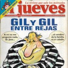 Coleccionismo de Revista El Jueves: == CN60 - REVISTA - EL JUEVES - GIL Y GIL ENTRE REJAS - ENERO 1999. Lote 143244922