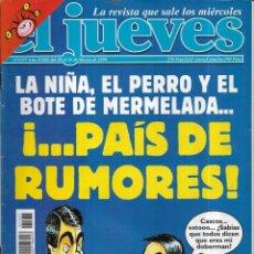 Coleccionismo de Revista El Jueves: == CN63 - REVISTA - EL JUEVES - PAÍS DE RUMORES - MARZO 1999. Lote 143246530