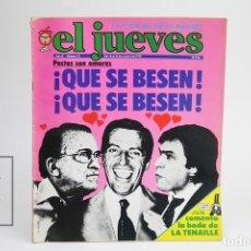 Coleccionismo de Revista El Jueves: PUBLICACIÓN / REVISTA - EL JUEVES Nº 73 / ¡QUE SE BESEN! - OCTUBRE DE 1978. Lote 143586060