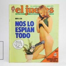 Coleccionismo de Revista El Jueves: PUBLICACIÓN / REVISTA - EL JUEVES Nº 75 / NOS LO ESPÍAN TODO - NOVIEMBRE DE 1978. Lote 143586124
