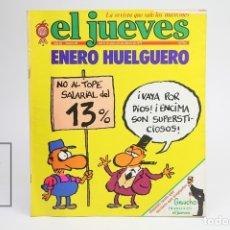 Coleccionismo de Revista El Jueves: PUBLICACIÓN / REVISTA - EL JUEVES Nº 88 / ENERO HUELGUERO - ENERO DE 1979. Lote 143586173