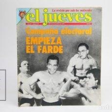 Coleccionismo de Revista El Jueves: PUBLICACIÓN / REVISTA - EL JUEVES Nº 89 / CAMPAÑA ELECTORAL - FEBRERO DE 1979. Lote 143586240