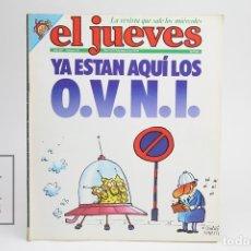 Coleccionismo de Revista El Jueves: PUBLICACIÓN / REVISTA - EL JUEVES Nº 93 / YA ESTÁN AQUÍ LOS O.V.N.I. - MARZO DE 1979. Lote 143586486