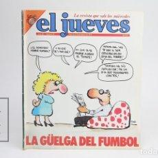 Coleccionismo de Revista El Jueves: PUBLICACIÓN / REVISTA - EL JUEVES Nº 94 / LA GÜELGA DEL FUMBOL - MARZO DE 1979. Lote 143586552