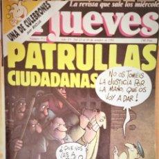 Coleccionismo de Revista El Jueves: EL JUEVES Nº 752. Lote 144076762
