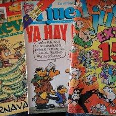 Coleccionismo de Revista El Jueves: EL JUEVES Nº 872, 572 + EXTRA 15 REGALO. Lote 144083642