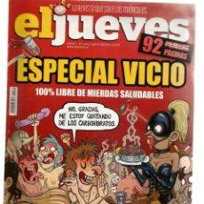 Coleccionismo de Revista El Jueves: EL JUEVES. Nº 2072. ESPECIAL VICIO. (ST/A00). Lote 144380474