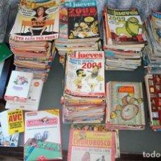 Coleccionismo de Revista El Jueves: GRAN LOTE DE REVISTAS EL JUEVES CON SUS EXTRAS. Lote 146945882