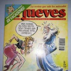 Coleccionismo de Revista El Jueves: EL JUEVES REVISTA DE HUMOR AÑOS 90 NUM 688 AÑO XIV DEL 01 AL 07 DE AGOSTO DE 1990. Lote 147070798