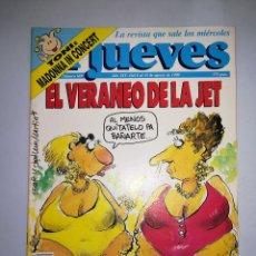 Coleccionismo de Revista El Jueves: EL JUEVES REVISTA DE HUMOR AÑOS 90 NUM 689 AÑO XIV DEL 08 AL 14 DE AGOSTO DE 1990. Lote 147071166