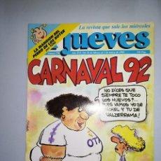 Coleccionismo de Revista El Jueves: EL JUEVES REVISTA DE HUMOR AÑOS 90 NUM 770 AÑO XVI DEL 26 DE FEBRERO AL 03 DE MARZO DE 1992. Lote 147071894