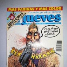 Coleccionismo de Revista El Jueves: EL JUEVES REVISTA DE HUMOR AÑOS 90 NUM 772 AÑO XVI DEL 10 AL 17 DE MARZO 1992. Lote 147072114