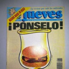 Coleccionismo de Revista El Jueves: EL JUEVES REVISTA DE HUMOR AÑOS 90 NUM 712 AÑO XV DEL 16 AL 22 DE ENERO DE 1991. Lote 147072326