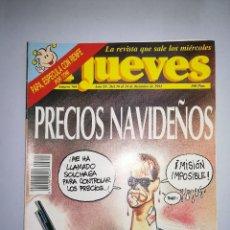 Coleccionismo de Revista El Jueves: EL JUEVES REVISTA DE HUMOR AÑOS 90 NUM 760 AÑO XV DEL 18 AL 24 DE DICIEMBRE DE 1991. Lote 147072486