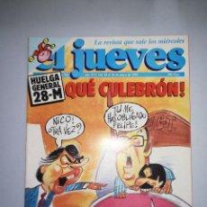 Coleccionismo de Revista El Jueves: EL JUEVES REVISTA DE HUMOR AÑOS 90 NUM 782 AÑO XVI DEL 20 AL 26 DE MAYO DE 1992. Lote 147072634