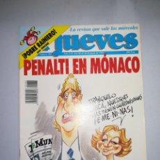 Coleccionismo de Revista El Jueves: EL JUEVES REVISTA DE HUMOR AÑOS 90 NUM 785 AÑO XVI DEL 10 AL 16 DE JUNIO DE 1992. Lote 147072826