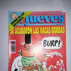 Coleccionismo de Revista El Jueves: EL JUEVES REVISTA DE HUMOR AÑOS 90 NUM 705 AÑO XIV DEL 28 DE NOVIEMBRE AL 04 DE DICIEMBRE DE 1990. Lote 147072986