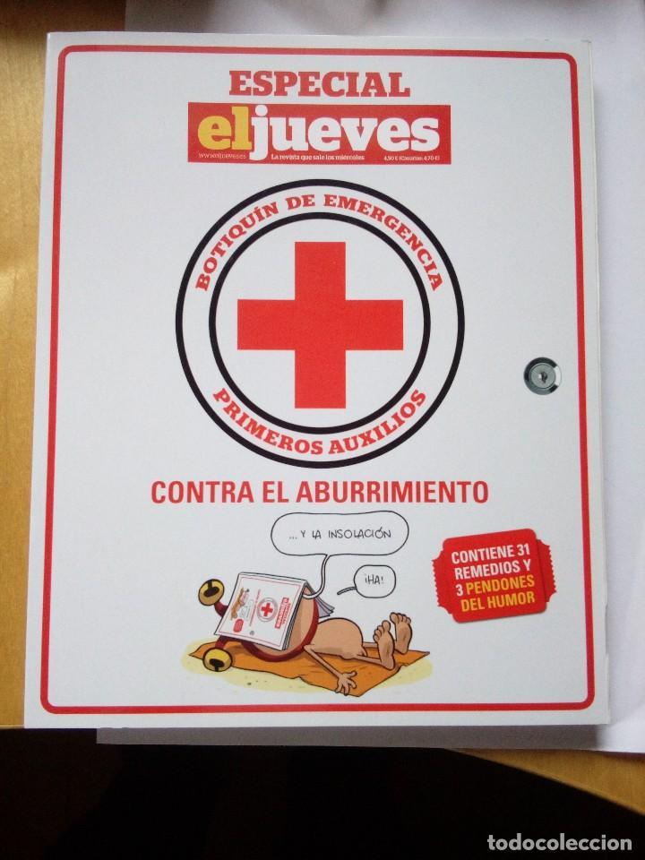 BOTIQUÍN DE EMERGENCIA ESPECIAL EL JUEVES COLECCIONISTA 2013 (Coleccionismo - Revistas y Periódicos Modernos (a partir de 1.940) - Revista El Jueves)