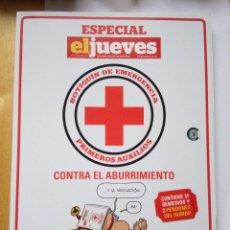 Coleccionismo de Revista El Jueves: BOTIQUÍN DE EMERGENCIA ESPECIAL EL JUEVES COLECCIONISTA 2013. Lote 147573026