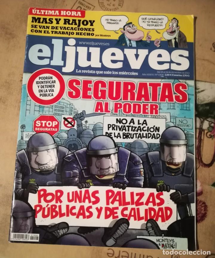EL JUEVES Nº 1908 (Coleccionismo - Revistas y Periódicos Modernos (a partir de 1.940) - Revista El Jueves)