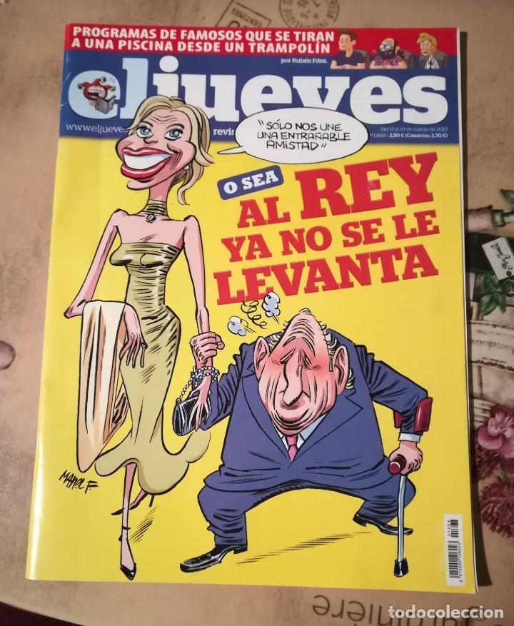 EL JUEVES Nº 1868 (Coleccionismo - Revistas y Periódicos Modernos (a partir de 1.940) - Revista El Jueves)