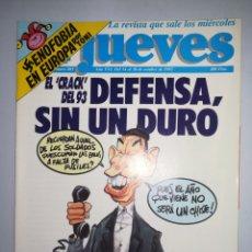 Coleccionismo de Revista El Jueves: REVISTA EL JUEVES AÑO XVI NUM 803 DEL 14 AL 20 DE OCTUBRE DE 1992. Lote 147728302