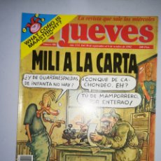 Coleccionismo de Revista El Jueves: REVISTA EL JUEVES NUM 801 AÑO XVI DEL 30 DE SEPTIEMBRE AL 6 DE OCTUBRE DE 1992. Lote 147729205