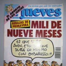 Coleccionismo de Revista El Jueves: REVISTA EL JUEVES NUM 725 AÑO XV DEL 17 AL 23 DE ABRIL DE 1991. Lote 147732272