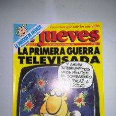 Coleccionismo de Revista El Jueves: REVISTA EL JUEVES NUM 713 AÑO XV DEL 23 AL 29 DE ENERO DE 1991. Lote 147732813