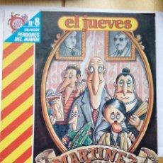 Coleccionismo de Revista El Jueves: MARTÍNEZ EL FACHA COLECCIÓN PENDONES DEL HUMOR 8 KIM AÑO 1984. Lote 147844794